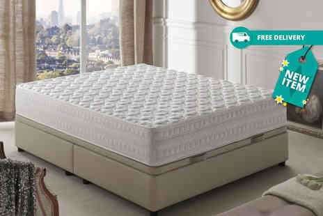 Simpur - Single, small double or double, king or super king size titanium energy 3D memory foam mattress - Save 91%