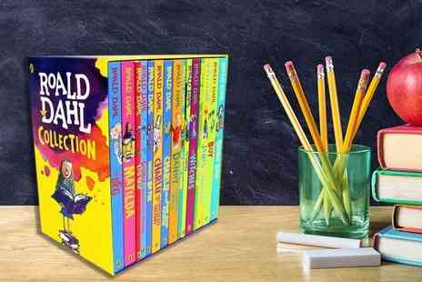 PCS Books - Roald Dahl 15 book childrens collection - Save 75%