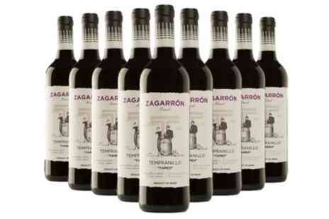San Jamon - Nine Bottles of Zagarron Tapeo Red Wine - Save 33%