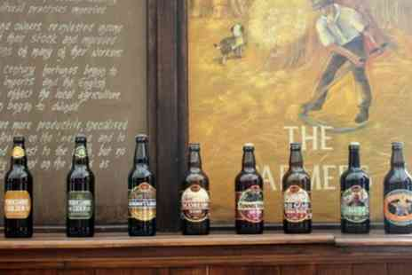 The Great Yorkshire - Brewery Tour with Tasting, Two Course Lunch and Gift Pack for Up to Four - Save 39%
