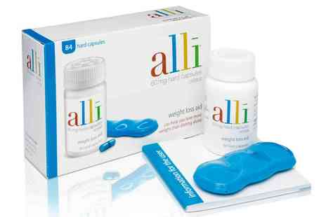 Innox Trading - Alli 84 Weight Management Capsules 60mg - Save 46%
