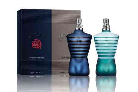 Groupon Goods Global GmbH - Jean Paul Gaultier Le Male and Ultra Male Eau De Toilette Set With Free Delivery - Save 27%