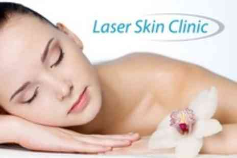 Laser Skin Clinic - Full Body Wrap With Facial Analysis and Papaya Face Peel - Save 80%