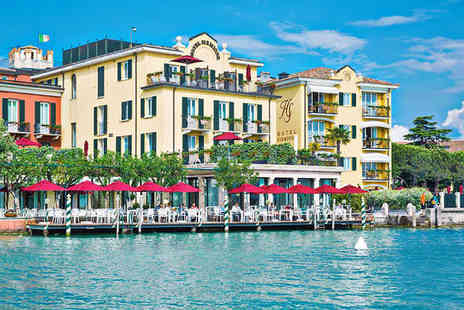 Hotel Sirmione e Promessi Sposi - Four Star Romantic Lake Side Hotel Stay For Two with Exclusive Spa Discounts - Save 64%