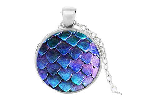 Get Gorgeous - Mermaid Tail Pendant Choose from Three Colours - Save 75%