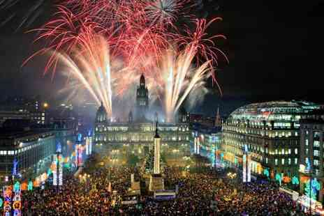 Stoke Travel - 24 hour Edinburgh Hogmanay New Years experience, including party train - Save 0%