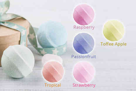 Ditzy Doll - Pack of 10 bath marble fizzers choose from five scents - Save 38%