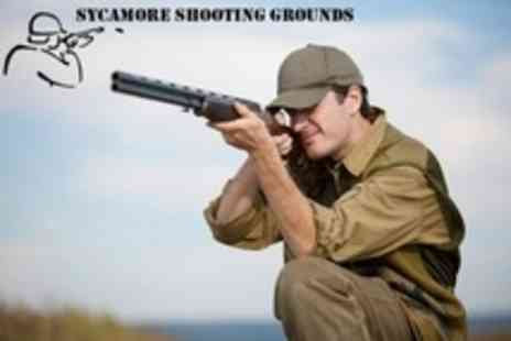 Sycamore Shooting Grounds - Clay Pigeon Shooting For One - Save 50%