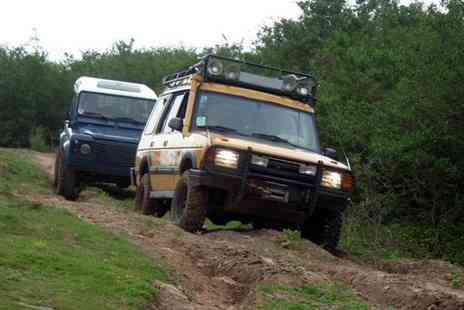 Nottingham Off Road Events - 60 minute 4x4 off road driving experience for up to four drivers - Save 31%