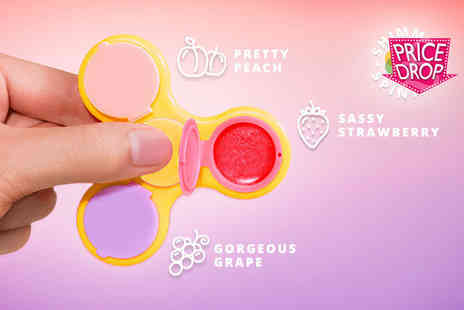 Fair Retail Adventures - Shimmer spinner lip gloss fidget spinner - Save 87%