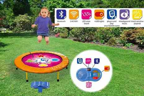 ViVo Technologies - Kids bluetooth dancing trampoline game choose from two colours - Save 77%