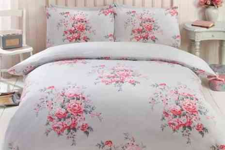 Groupon Goods Global GmbH - Maisie Reversible Duvet Set in Choice of Design and Size - Save 73%
