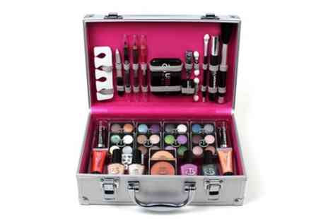Groupon Goods Global GmbH - One or Two Urban Beauty 60 Piece Makeup Vanity Cases - Save 53%