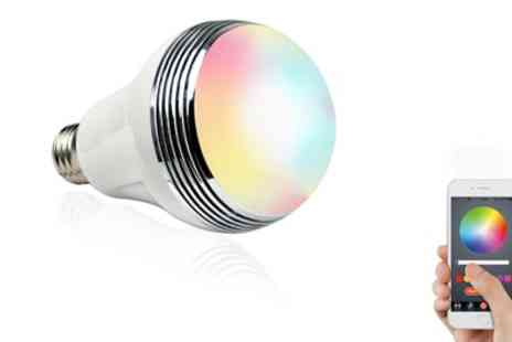 Groupon Goods Global GmbH - Apachie Bluetooth Led Speaker Bulb - Save 74%