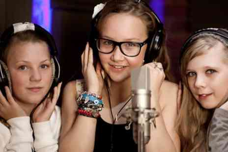 Singing Experience - Popstar Recording Party for Up to Eight Children - Save 80%