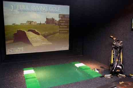 The Green - Indoor Golf with Nachos and Beer for Two of Four - Save 70%