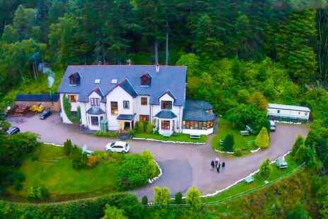 The Craigdarroch Inn - One to Three Nights Stay for Two with Breakfast, Dinner and Wine - Save 34%