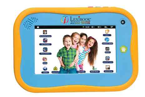 Groupon Goods Global GmbH - Lexibook MFC280EN Junior 2 Android Tablet With Free Delivery - Save 37%
