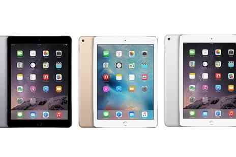 GoldBoxDeals - Refurbished Apple iPad Air 1 or Air 2 with 64GB or 128GB and Wi Fi or 4G Cellular With Free Delivery - Save 0%
