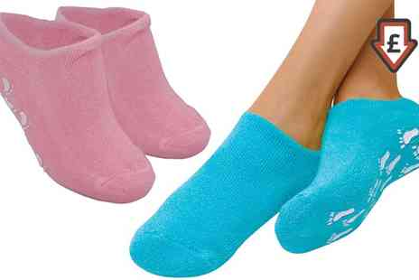 Groupon Goods Global GmbH - One or Two Pairs of Pro 11 Wellbeing Moisturising Socks - Save 44%