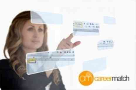 Career Match - Microsoft Office Excel 2007 or 2010 Online Training Course - Save 90%