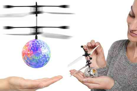 Groupon Goods Global GmbH - One, Two or Four Electric Infrared Led Flying Helicopter Ball Toys - Save 70%