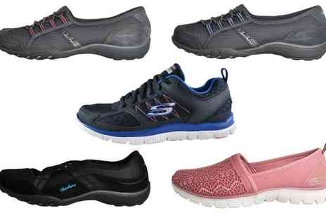 Groupon Goods Global GmbH - Skechers Womens Memory Foam Performance Trainers and Shoes - Save 50%