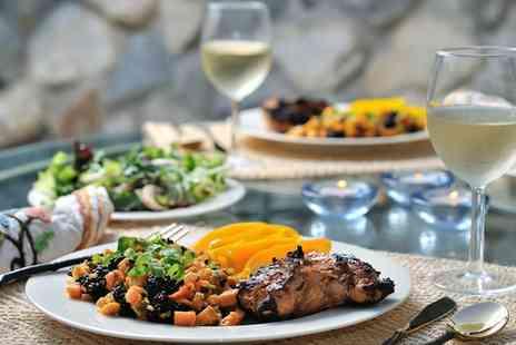 The Eatery - Two Course Mediterranean or Turkish Meal with Prosecco for Two, Four or Six - Save 49%