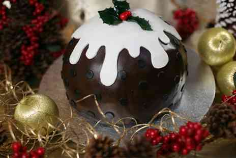 3D Cakes - Christmas Log or Pudding Cake - Save 80%