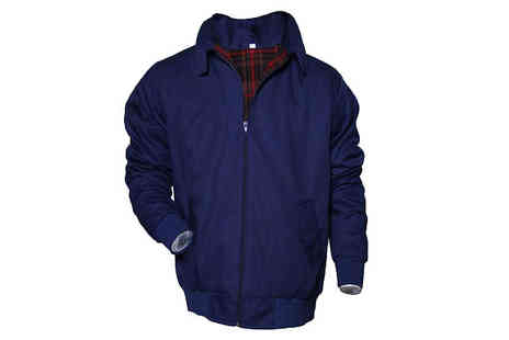 Hawt Online - Mens Lightweight Harrington Jacket Available in Three Colours - Save 61%