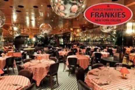 Frankies Knightsbridge - Three Course Italian Meal For Two With Bottle of Wine - Save 50%