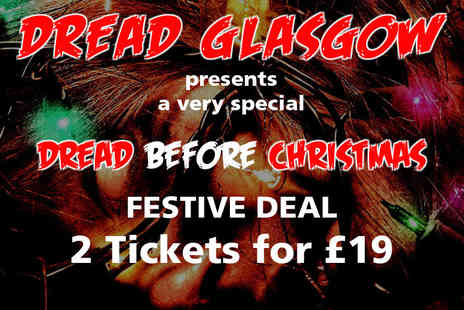 Dread Glasgow - Entry to the Dread Before Christmas Scare Run for two adults - Save 27%