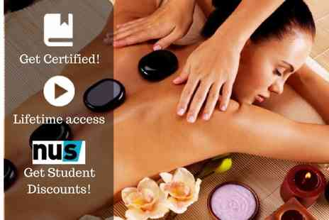 OfCourse - Online hot stone massage course - Save 82%
