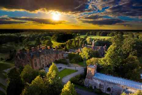 Wroxall Abbey Estate - Four Star Overnight Warwickshire stay for two people with breakfast and spa access - Save 50%