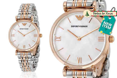 Wristy Business - Ladies Emporio Armani AR1683 watch - Save 55%