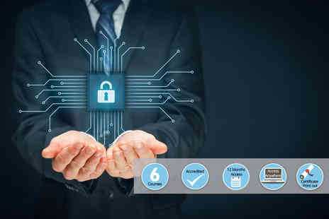 e courses4you - Online cyber security training course bundle - Save 98%