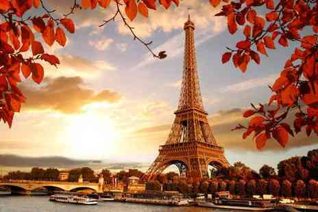 Crystal Travel - Three nights Five Star Paris stay with spa access and return flights - Save 33%