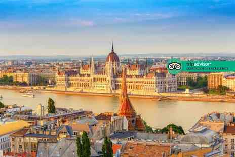 Tour Center - Four Star Budapest break with spa entrance and flights - Save 43%