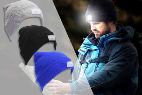 DM Logistic Solutions - Led beanie hat choose from three colours - Save 71%