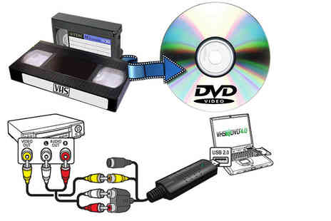 Ugoagogo - Usb Vhs to Dvd converter with video editing software - Save 60%
