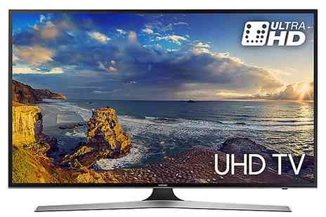 Groupon Goods Global GmbH - Samsung UE50MU6100K 50 Inch 4K Ultra Hd Hdr Led Smart Tv With Free Delivery - Save 8%