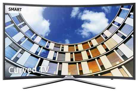 Groupon Goods Global GmbH - Samsung UE49M6320 49 Inch Full Hd Led Curved Smart Tv With Free Delivery - Save 17%