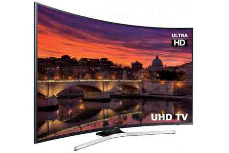Groupon Goods Global GmbH - Samsung UE65MU6200 65 Inch 4K Ultra Hd Led Curved Smart Tv With Free Delivery - Save 17%