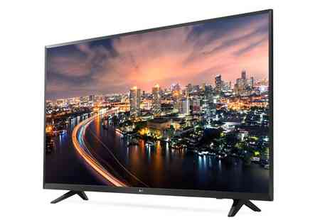 Groupon Goods Global GmbH - Lg 49UJ620V 49 Inch 4K Ultra Hd Led Smart Tv With Free Delivery - Save 17%