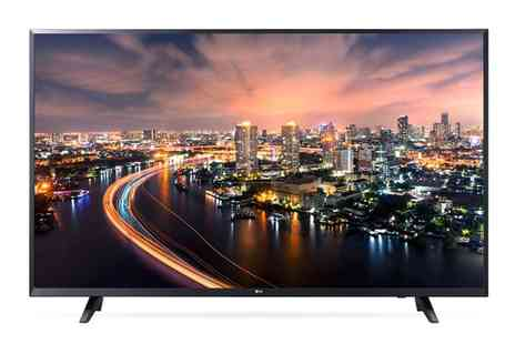 Groupon Goods Global GmbH - Lg 43UJ620V 43 Inch 4K Ultra Hd Led Smart Tv With Free Delivery - Save 11%