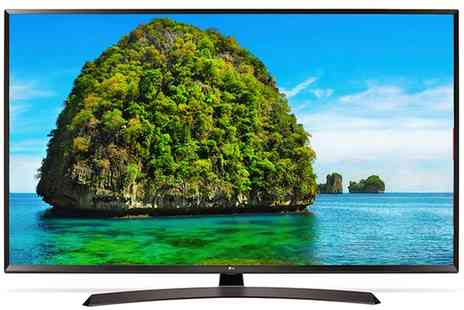 Groupon Goods Global GmbH - Lg 65UJ634V 65 Inch 4K Ultra Hd Hdr Led Smart Tv With Free Delivery - Save 29%