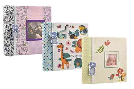 Groupon Goods Global GmbH - 200 Pocket Photo Album in Choice of Colour and Style - Save 0%