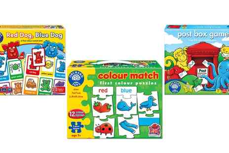Groupon Goods Global GmbH - One or Three Orchard Toys Colour Matching Games - Save 0%