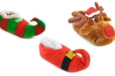 Groupon Goods Global GmbH - Unisex Novelty Slippers - Save 70%