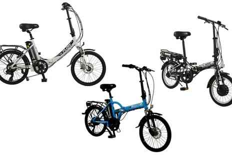 Groupon Goods Global GmbH - Pro Rider Folding Electric Bike With Free Delivery - Save 0%